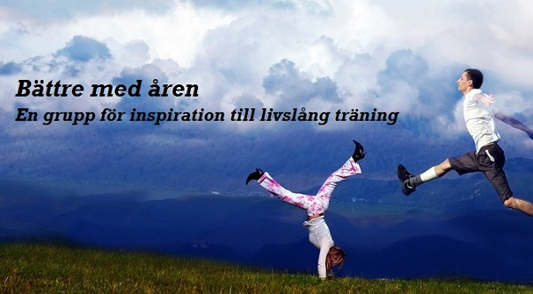 Diskussongruppen på facebook Bättre med åren - Inspiration till livslång träning