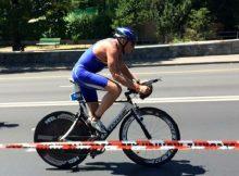 Göran Magnusson på cykel