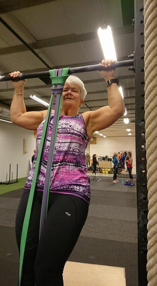 Lena Markström in action