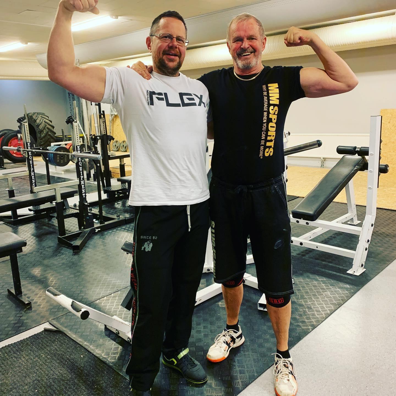 Leif och coachen