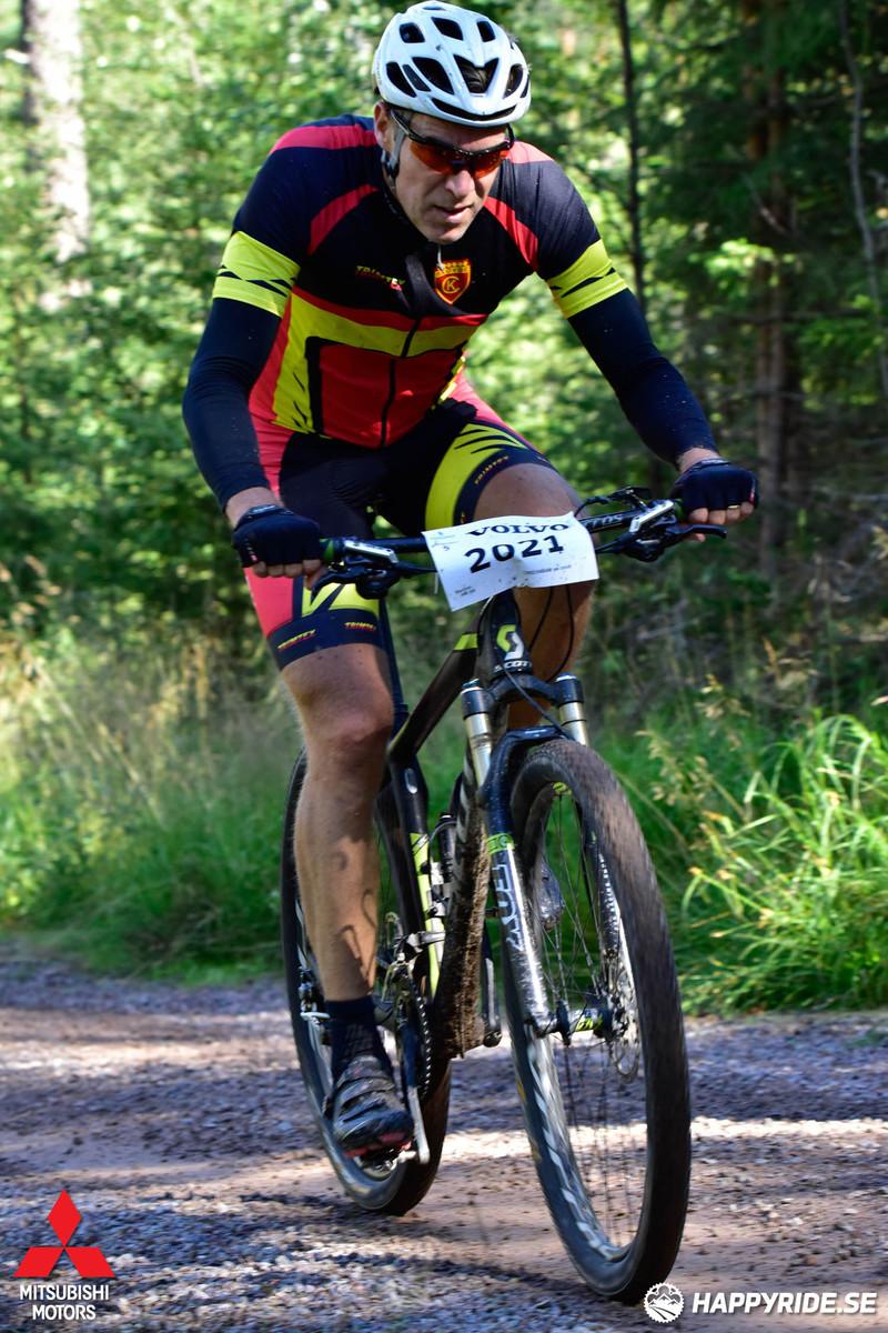 Stefan under cykelvasan 2016
