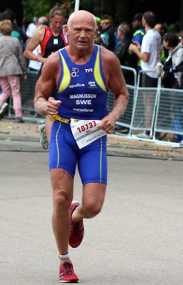 Göran Magnusson in action