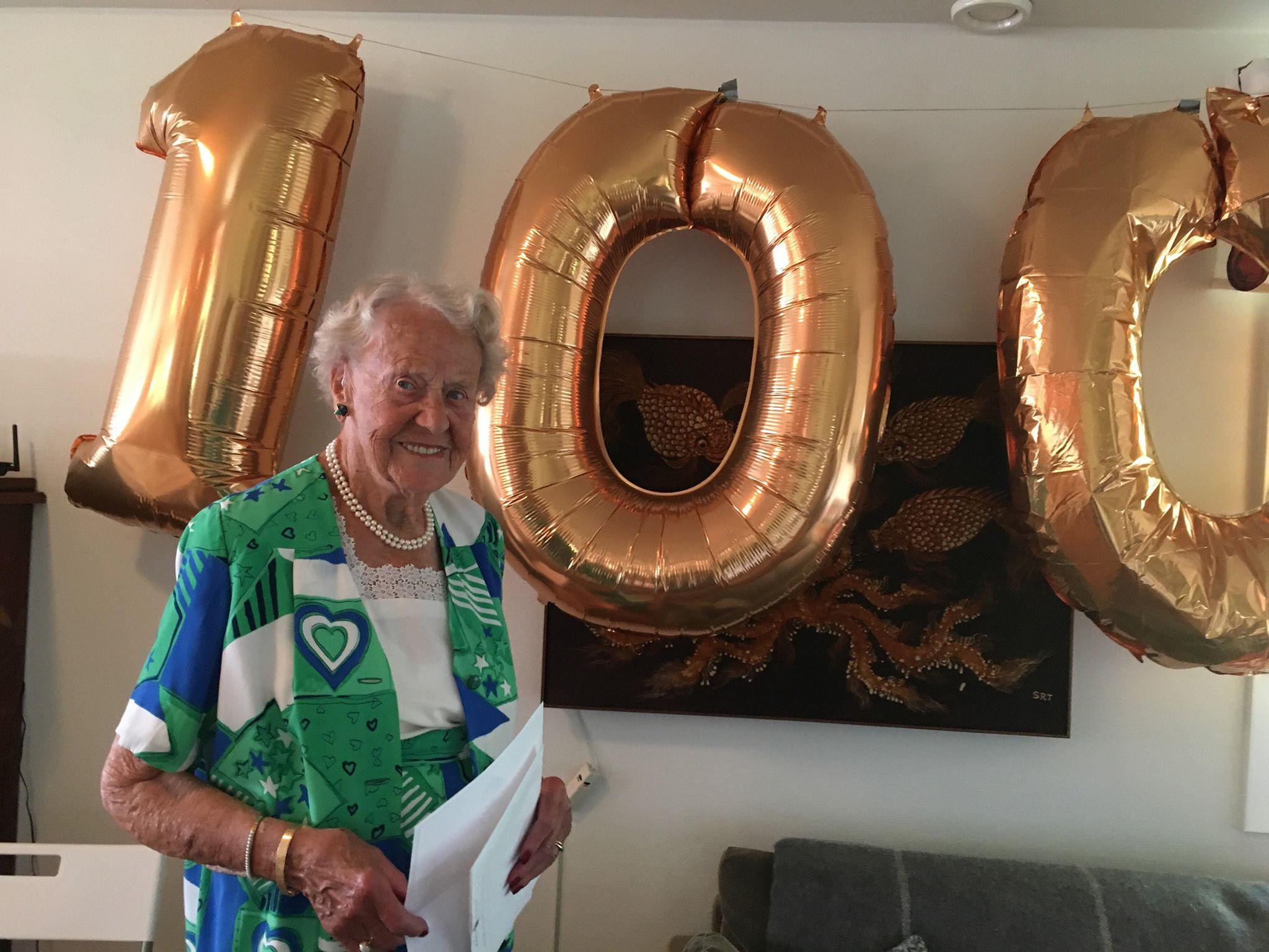 Britt Dahl 100 år