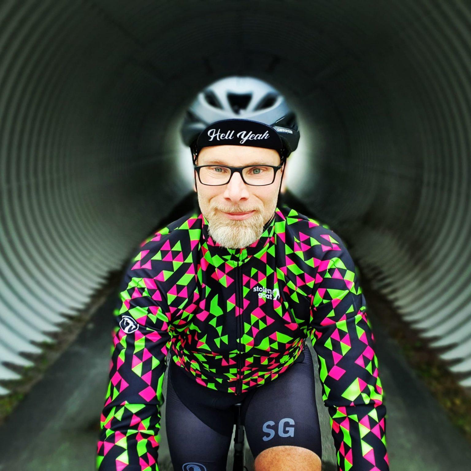 Ronny Jansson cykling