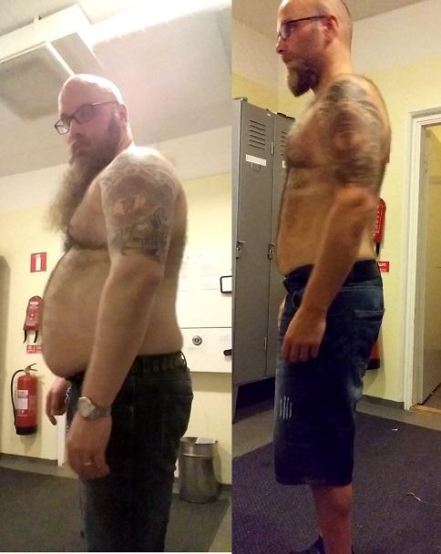 Ronny Jansson viktnedgång